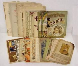 19th Century Cooking & Recipe Books