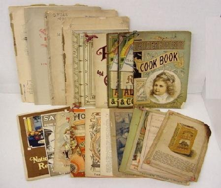2012: 19th Century Cooking & Recipe Books