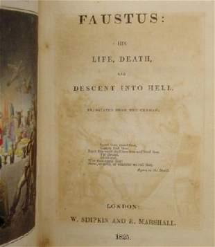 1825 1st Ed Faustus George Borrow