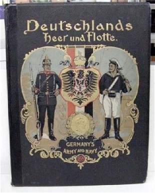 1900 Gustav Siegel Folio w/41 Color Pla