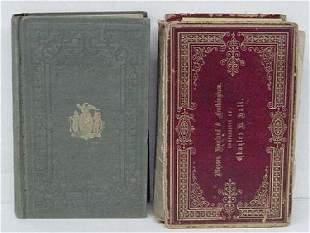 2 Valentines Manuals 1850 & 1863