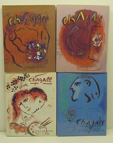 2021: 1960-74 Lithographs of Chagall Vol.1-4