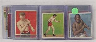 LOT OF MECCA BOXING CARDS