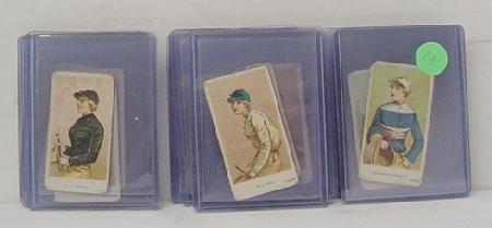 3014: AMERICAN CARAMEL JOCKEY CARDS