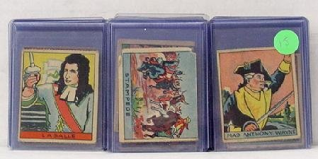 3015: LOT OF R 128 & 129 CARDS