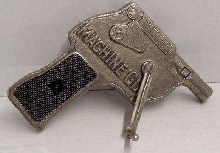 """1005: 1938 Kilgore """"Machine Gun"""" Cast Iron Ca"""