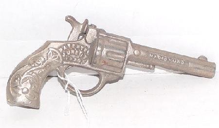 """1013: 1935 Stevens """"Colt"""" Cast Iron Cap Gun"""