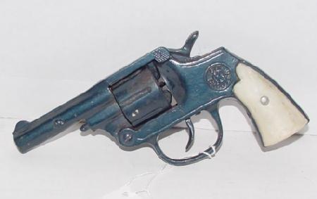 "1014: Kilgore ""Six Shooter"" Cast Iron Cap Gun - 2"