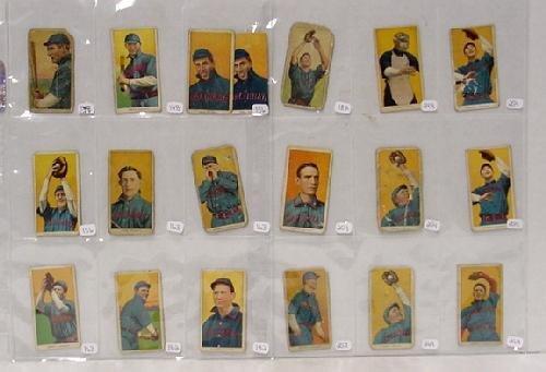 1022: T-206 CINCINATTI 19 CARDS