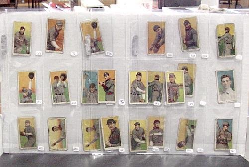 2002: LOT OF T-206 BASEBALL CARDS
