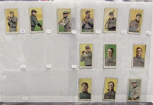 2005: LOT OF T-206 BASEBALL CARDS