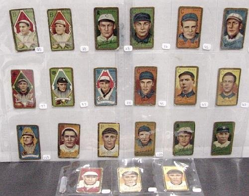 2012: T-205 LOT OF BASEBALL CARDS
