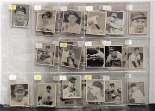 1948 BOWMAN. 39 CARDS OVERALL EX/NM CAR