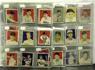 1949 BOWMAN. 115 HIGH GRADE CARDS INCLU