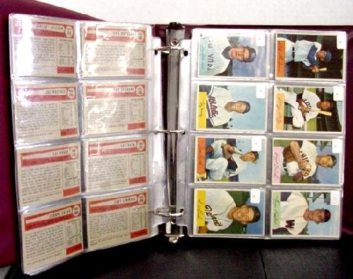 1006: 1954 BOWMAN SET COMPLETE. HIGH GRADE WI