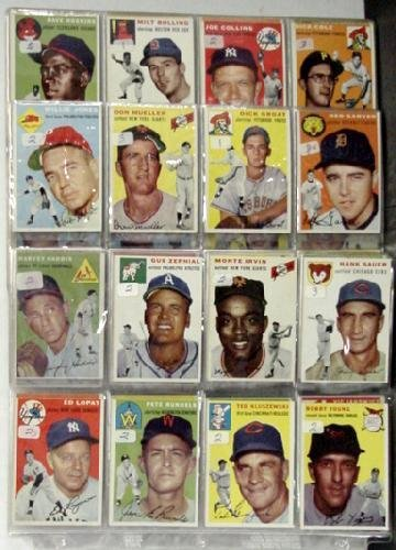 1010: 1954 TOPPS MISSING CARDS