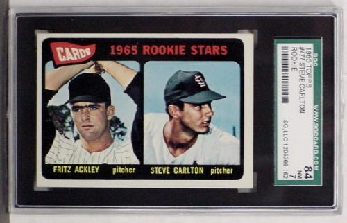 1018: 1965 TOPPS CARLTON ROOKIE 84 NM 7.
