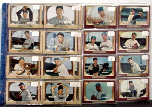 1037: BOWMAN 1955 COMPLETE SET