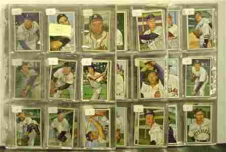 1040: 1952 BOWMAN. 185 HIGHER GRADE CARDS.