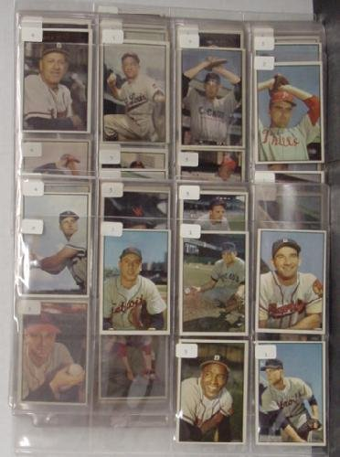 1009: 1953 BOWMAN SUPER HIGH GRADE LOT