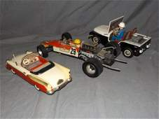 3 Piece Vintage Toy Vehicle Lot