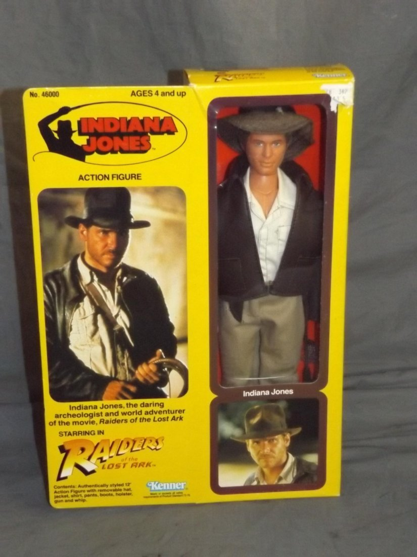 Kenner Indiana Jones Doll boxed.