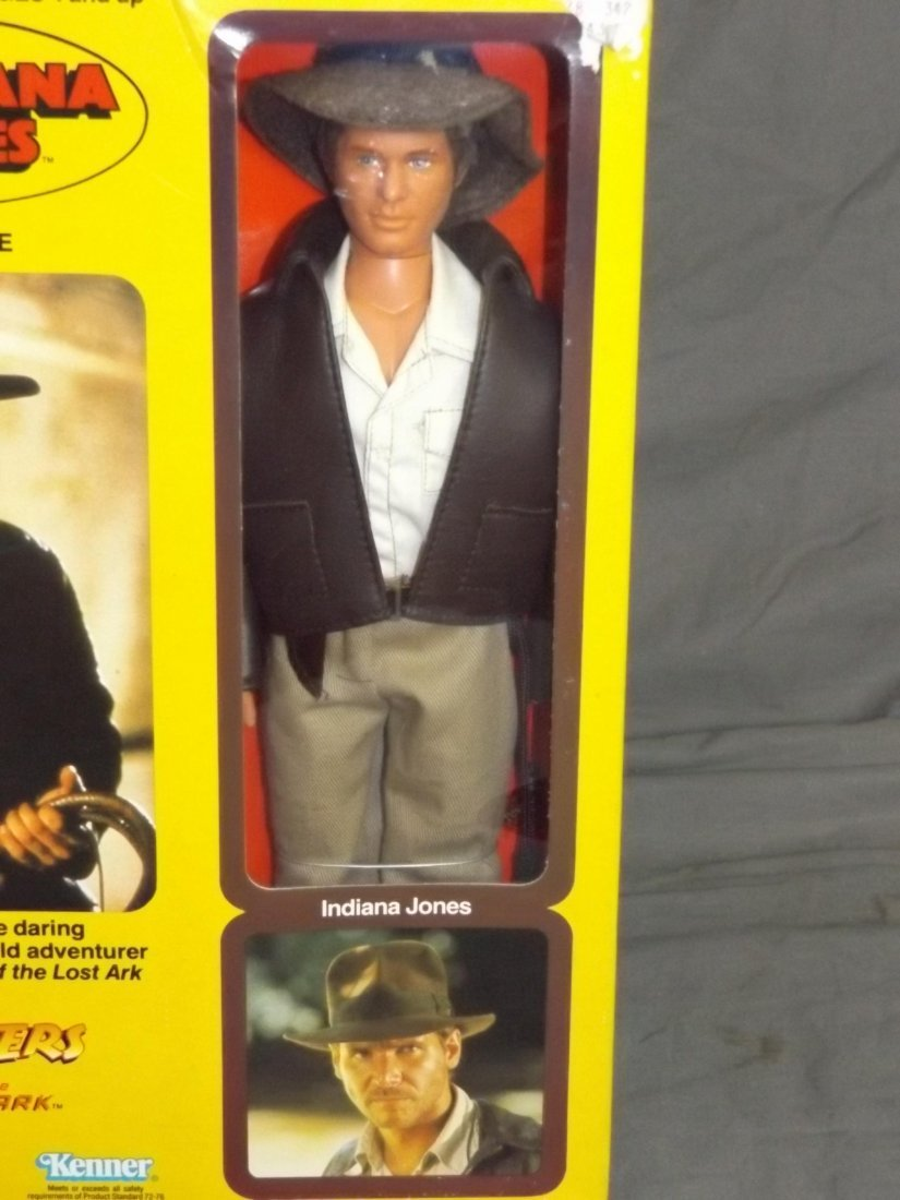 Kenner Indiana Jones Doll boxed. - 2