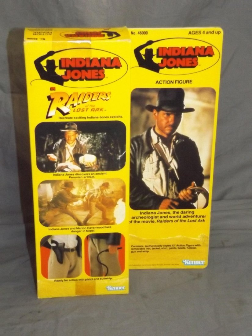 Kenner Indiana Jones Doll boxed. - 3