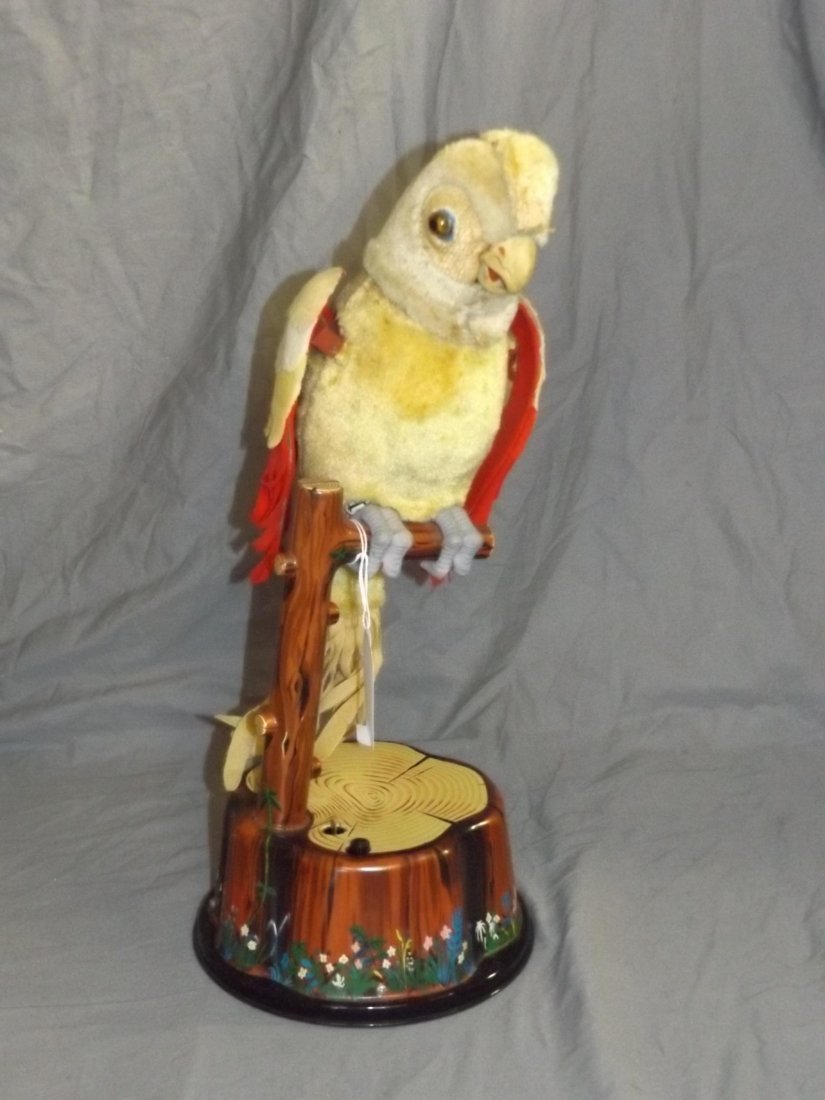 Boxed Marx Battery Operated Pete the Parrot Toy - 2