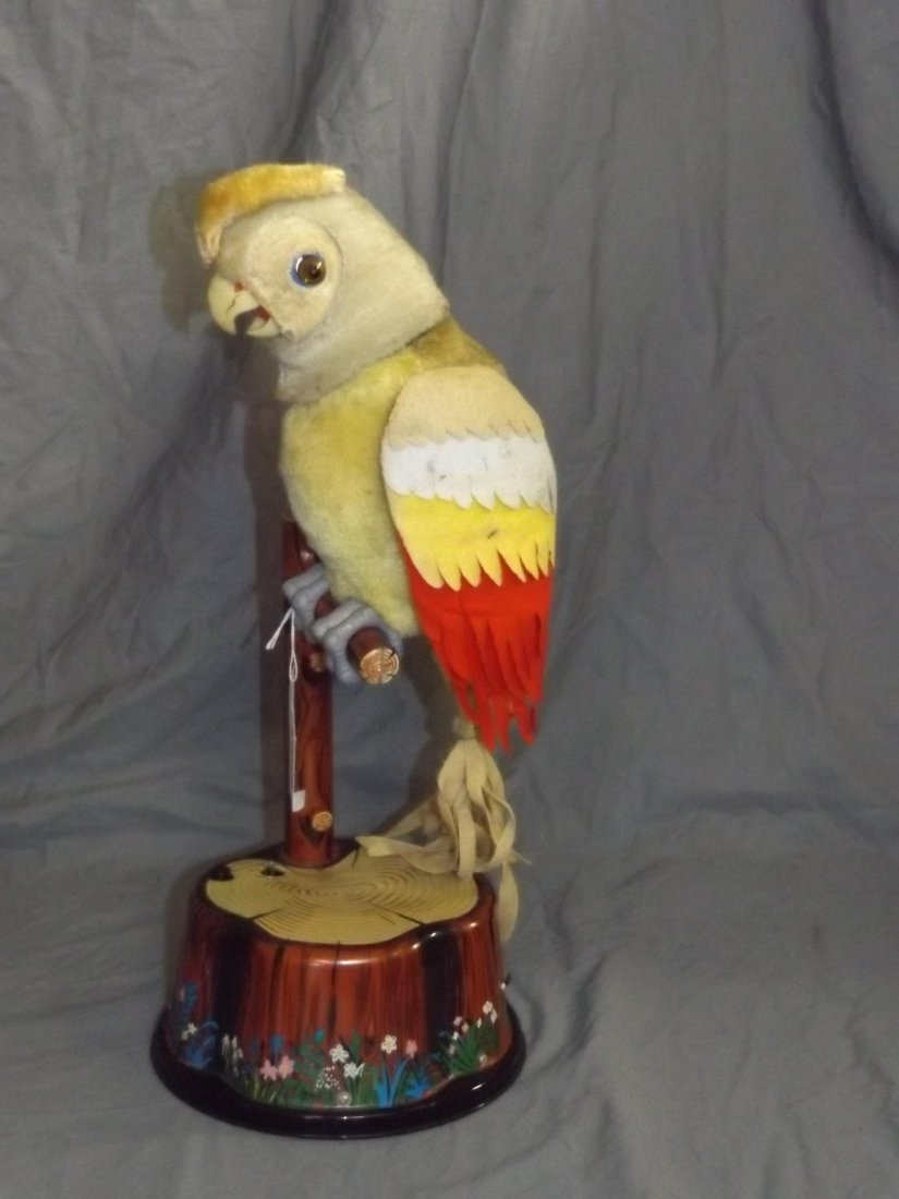 Boxed Marx Battery Operated Pete the Parrot Toy - 3