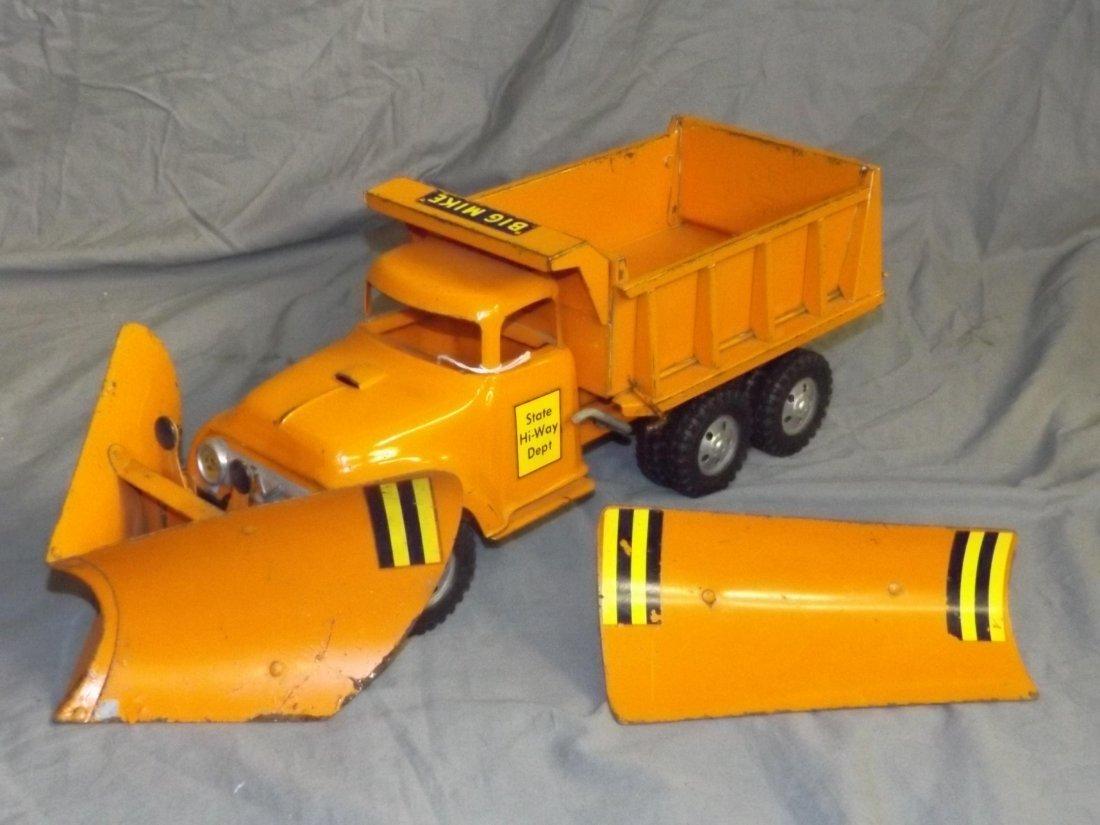 Rare Tonka Big Mike Hi-Way Dept Truck with Plows