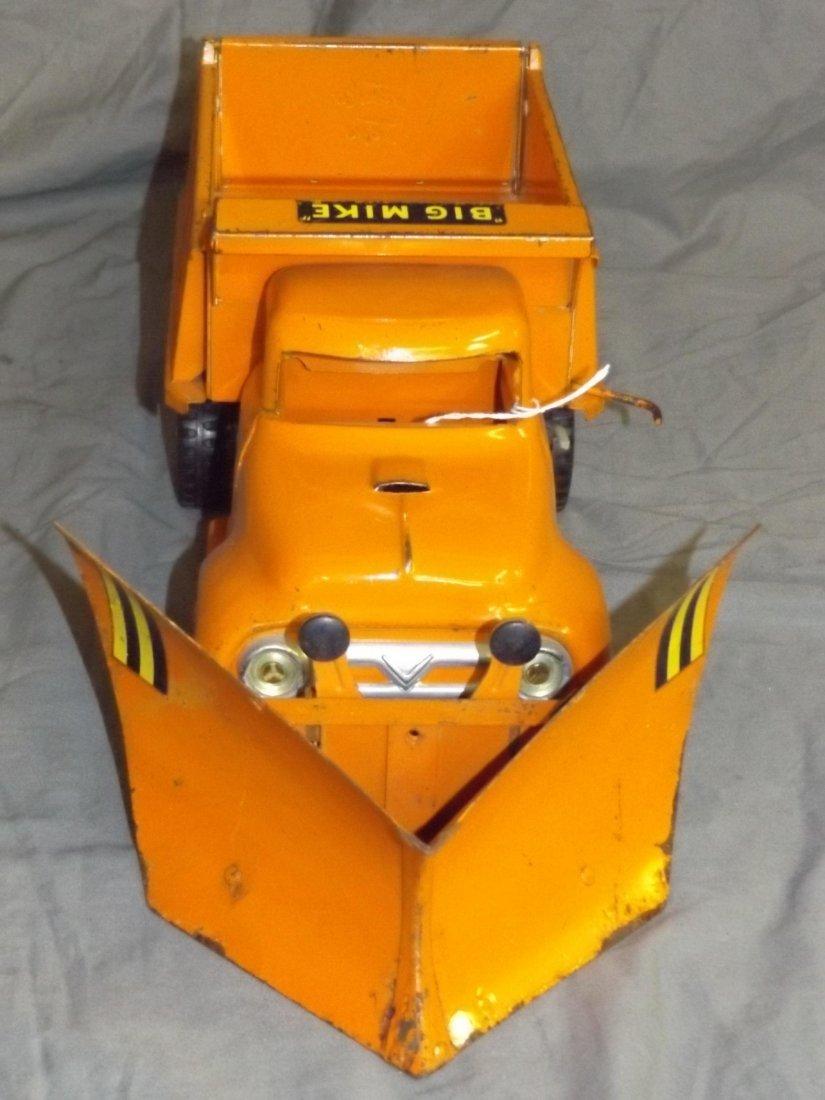 Rare Tonka Big Mike Hi-Way Dept Truck with Plows - 2