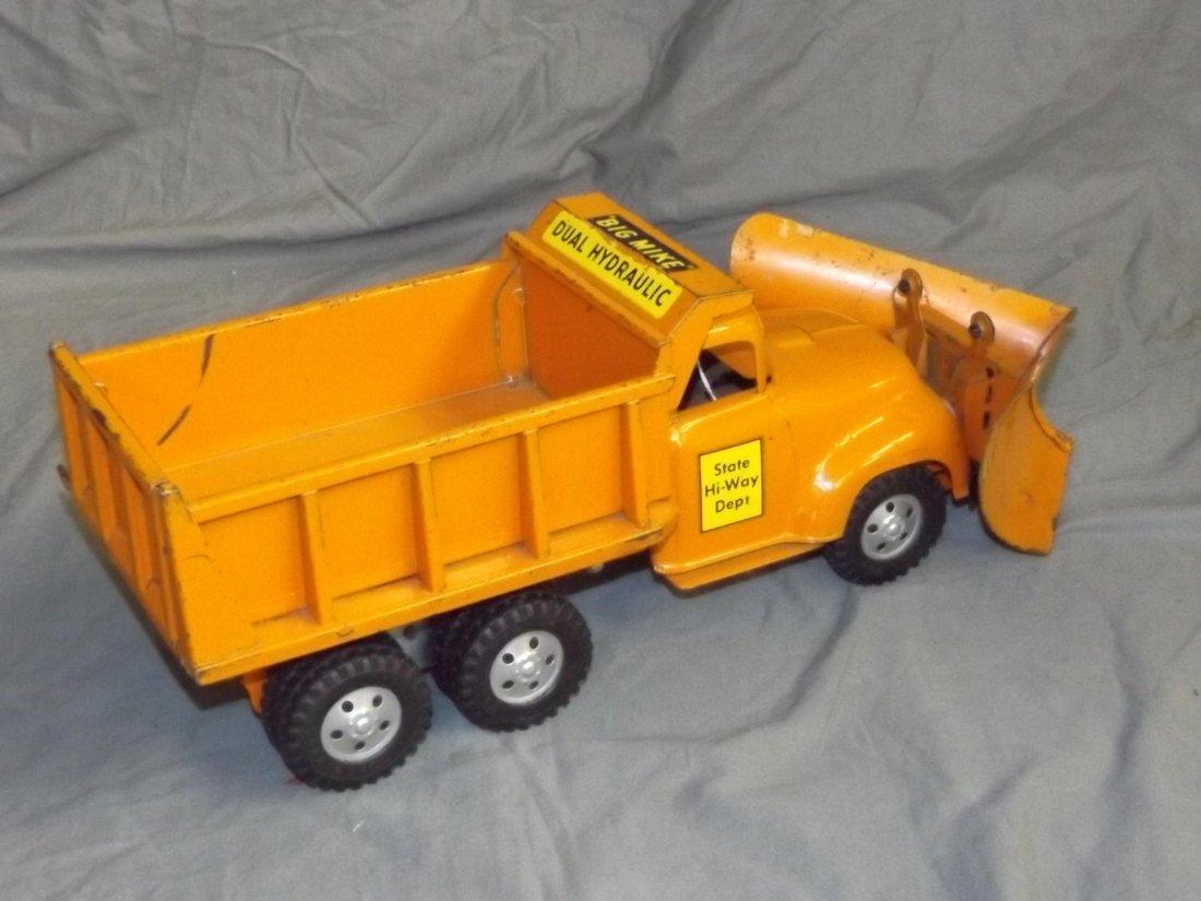 Rare Tonka Big Mike Hi-Way Dept Truck with Plows - 3
