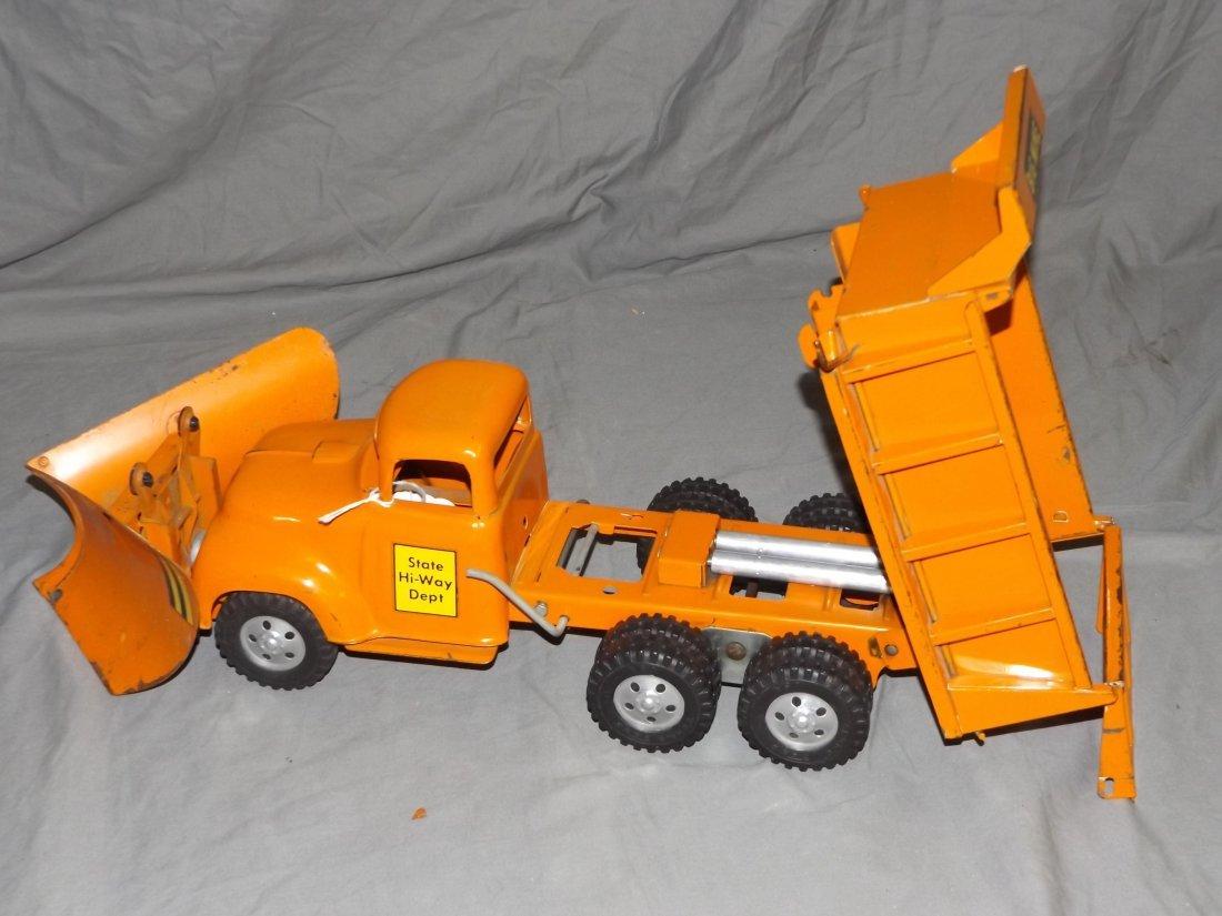Rare Tonka Big Mike Hi-Way Dept Truck with Plows - 4