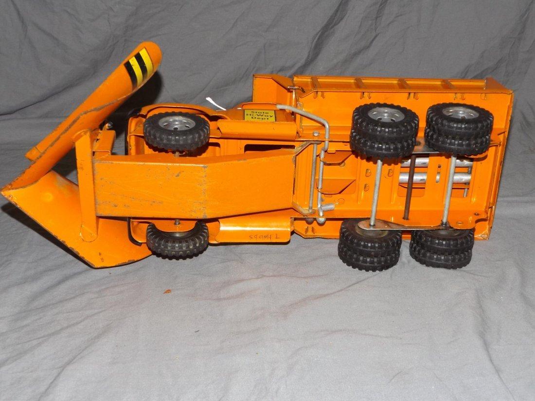 Rare Tonka Big Mike Hi-Way Dept Truck with Plows - 5