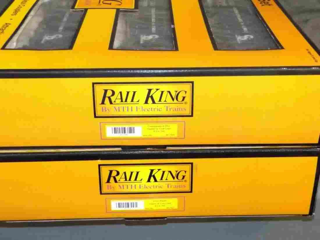 (2) MIB MTH Rail King Six Car Hopper Sets