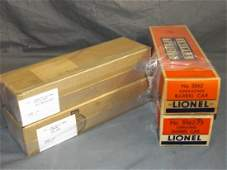 Lot of 2 Lionel Barrel Cars  2 Alco Diesels