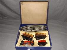 Boxed Hornby M1 O Gauge Passenger Set