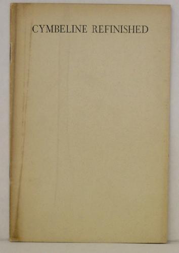 3: G. B. SHAW - CYMBELINE REFINISHED