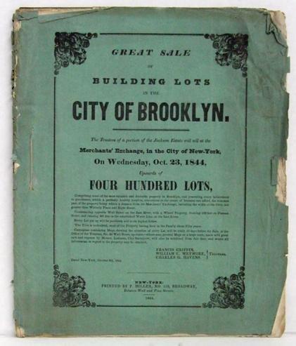 11: BROOKLYN - RARE BROCHURE IN WRAPS