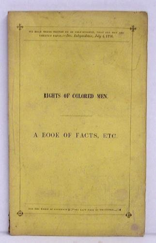 14: RIGHTS OF COLORED MEN, A BOOK OF FACTS