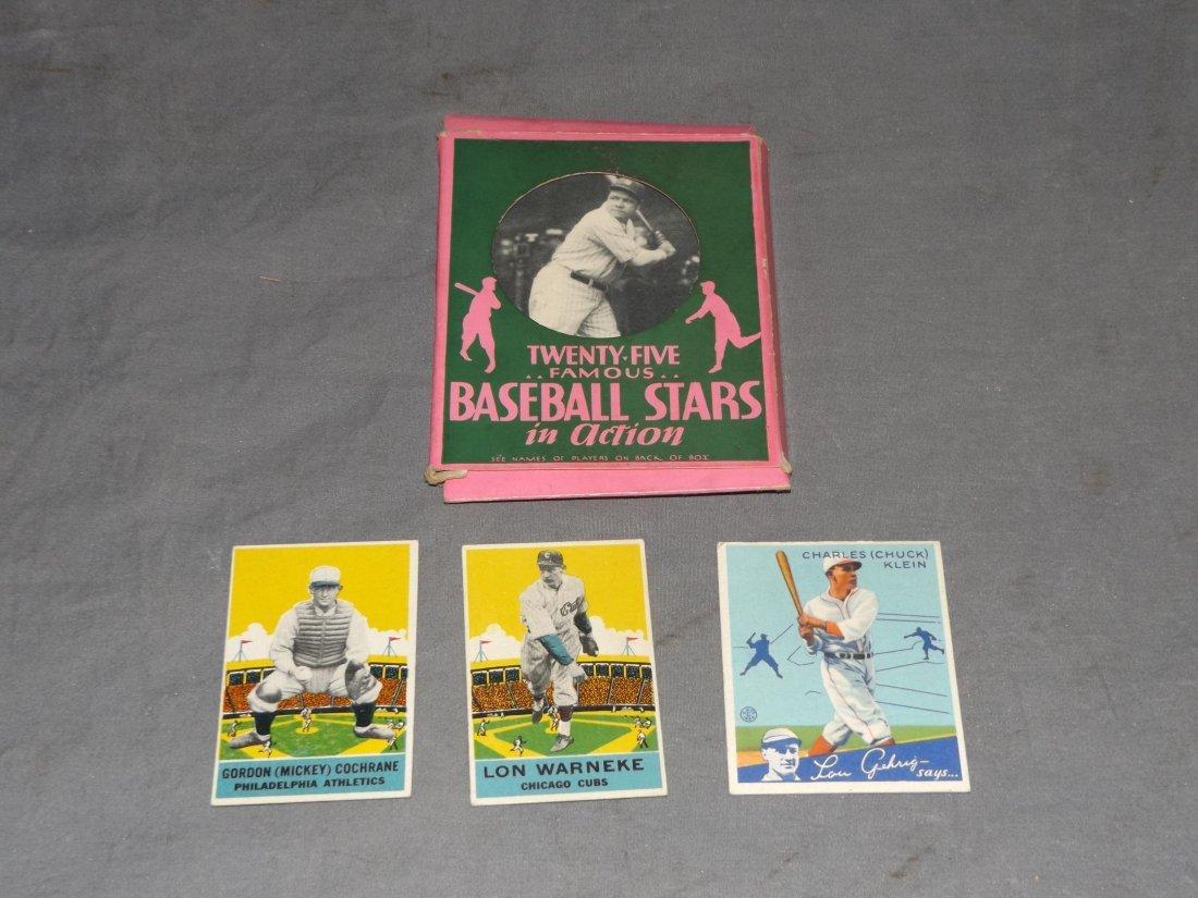 Vintage Baseball Card Lot.