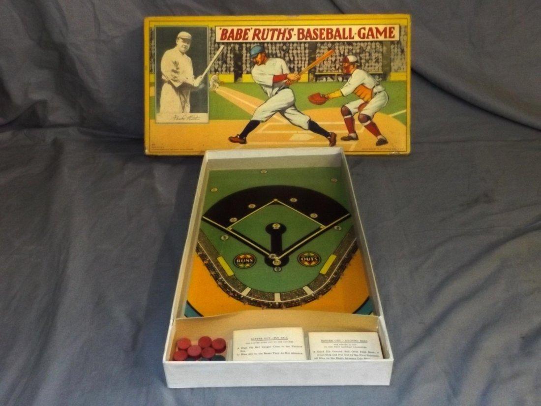 Milton Bradley. Babe Ruth's Baseball Game.