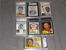 Lot of Seven Graded Cards.