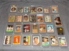 Terrific Mickey Mantle Baseball Card Lot 27 cards