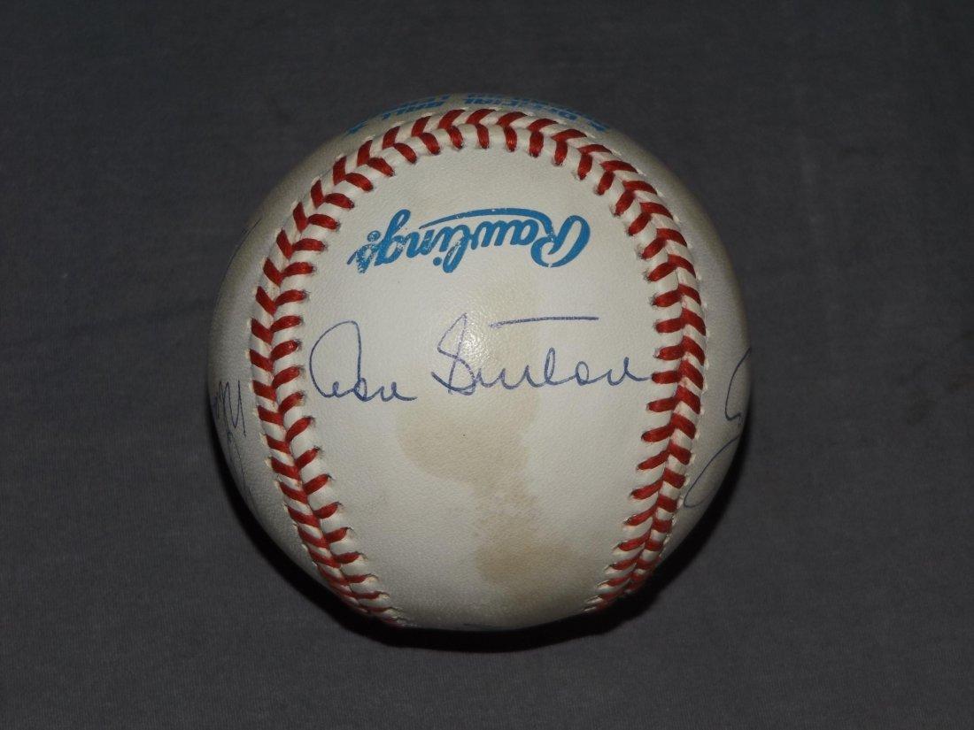 Multi Signed Baseball, 300 Win Club - 2