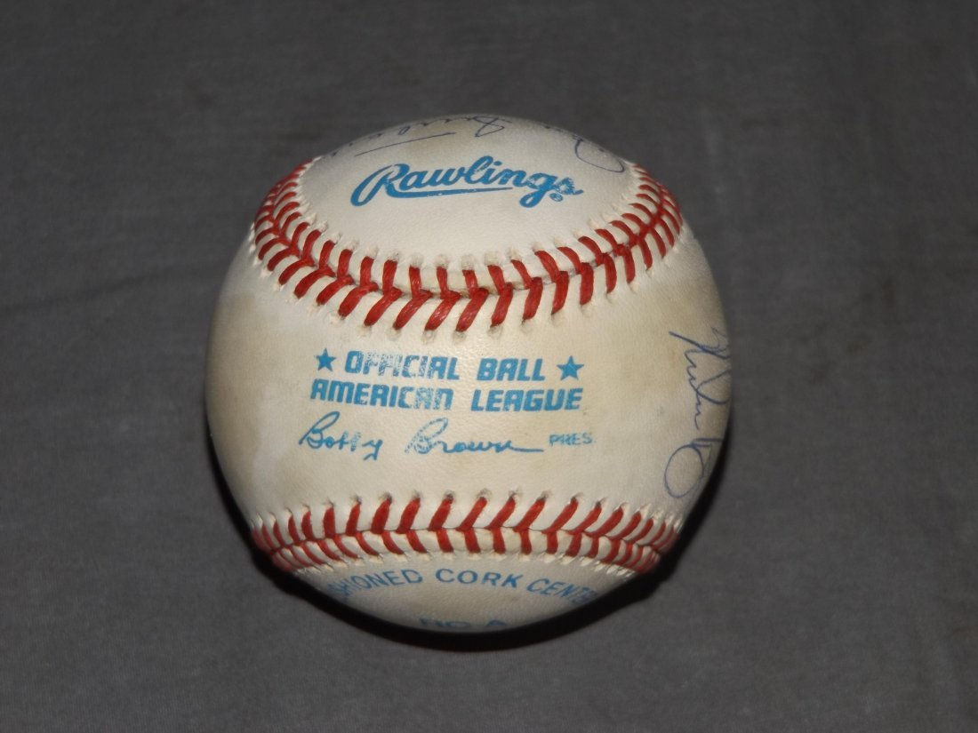 Multi Signed Baseball, 300 Win Club - 6