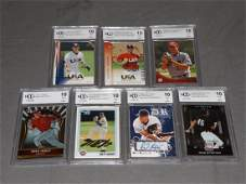 7 20022011 Baseball Rookie Cards BGS BCCG 10