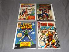 Lot of Four Key Marvel Comics