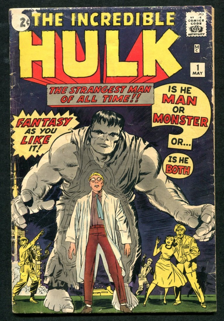 Hulk #1 Overall VG Copy.